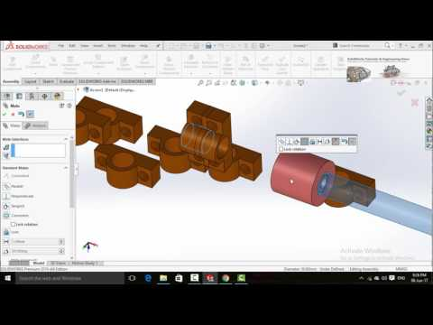 SolidWorks Assembly for Hydro Turbine