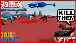 Becoming The Most Wanted Criminal In Roblox Jailbreak
