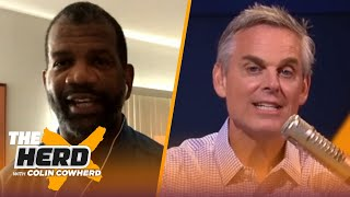 LeBron playing well with MJ is 'wishful thinking,' Pistons made MJ who he was — Rob | NBA | THE HERD