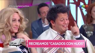 """¡Darío Lopilato y Vero Lozano recrearon """"Casados con Hijos""""!"""