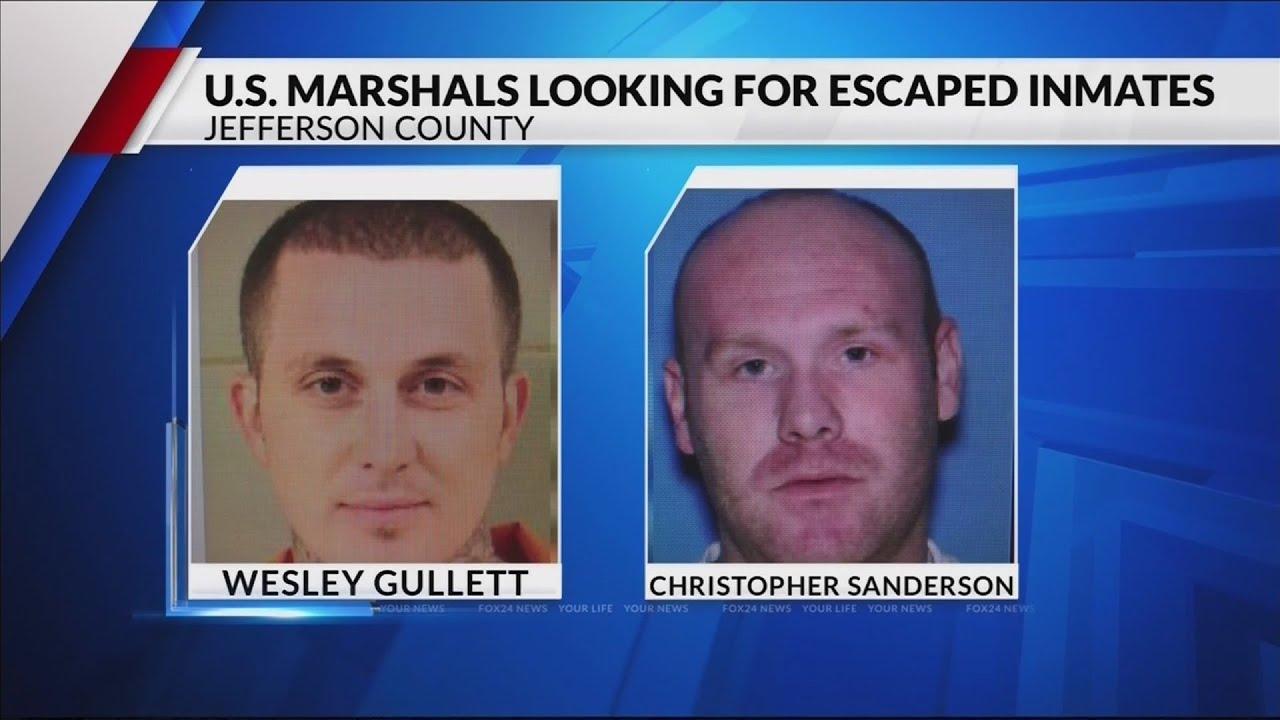 2 inmates escape Jefferson County Jail KFTA