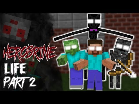 download MONSTER SCHOOL : Herobrine's Life Part 2 (The Story of Monster School) - Minecraft Animation