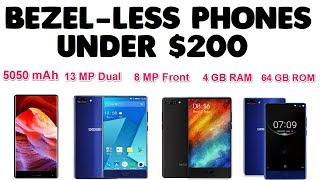 Best Budget Bezel-Less Phones under $200[Alternative Cheap Chinese Phones]