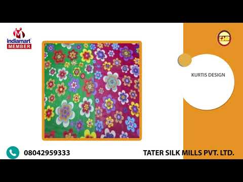 Exporter of Printed Polyester Fabric