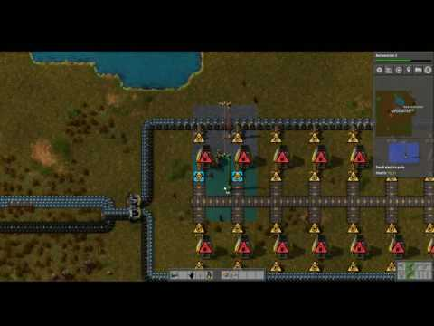 Factorio - Efficient Smelting setup