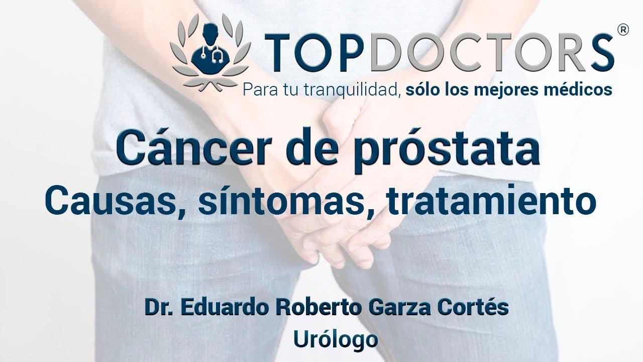 signos y sintomas del cancer de prostata