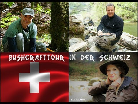 Schweizer Bushcraft-Camp - Tour mit Übernachtung - Vanessa Blank
