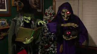 Witch 2 of the coven - 2018 Halloween prop display