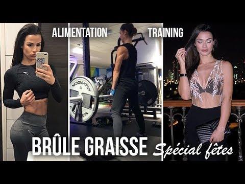 PROGRAMME BRÛLE GRAISSE (training + alimentation)