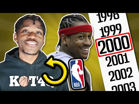 i reset the nba to the year 2000, and everything was different...