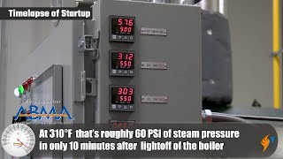 Getting the Steam System Up to Pressure Quickly with a Vapor Power Boiler - Boiler Point