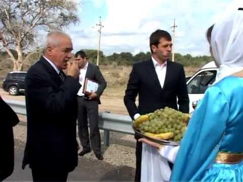 В кизлярском районе открыли новый мост