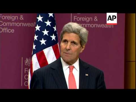 U.S. Secretary of State John Kerry says Iraq and its international partners have made significant ga