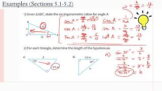 MCR3U/Grade 11 Functions: 5.1-5.2 (Examples)