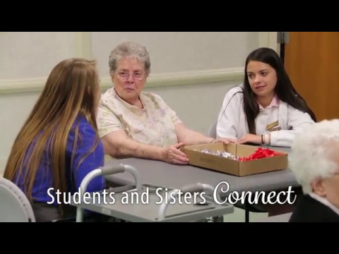 Carmel Catholic High School Visits Mount Carmel