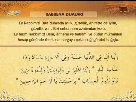 Ishak Danis Rabbena Dualari Ve Turkce Meali