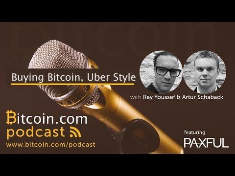 Buying Bitcoin, Uber Style