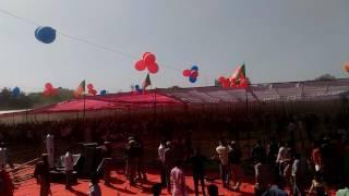 sapna ke dance me lathiya chali behror rajasthan