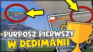 PURPOSZ PIERWSZY W DEDIMANII! - TRACKMANIA 2 STADIUM #65 /w Purposz