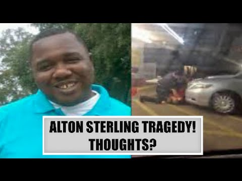 ALTON STERLING TRAGEDY, PRAY FOR HIS FAMILY!