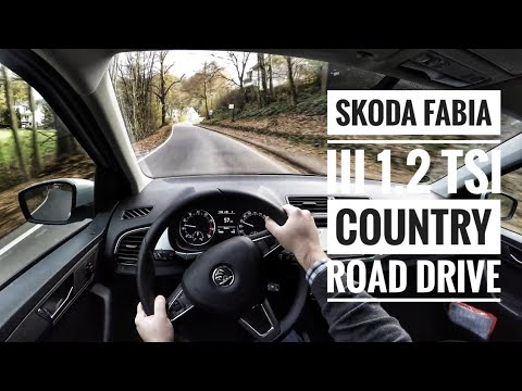 skoda fabia iii 1 2 tsi 2017 pov country road drive youtube. Black Bedroom Furniture Sets. Home Design Ideas