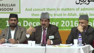 Ansarullah Shura 2016 World News