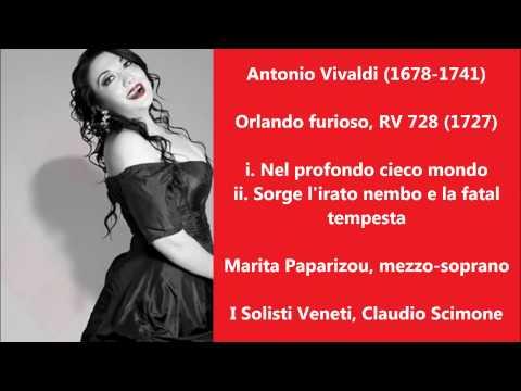 Antonio Vivaldi: Orlando furioso, RV 728 (2 arias) - Marita Paparizou, Claudio Scimone (Audio video)
