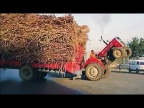 Modern Mega Machines Unusual Woodwork Sawmill Crane Barge Wood Transportation Timber Tractor Saw