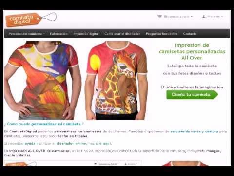 Como Dise Ar Camisetas Online Youtube