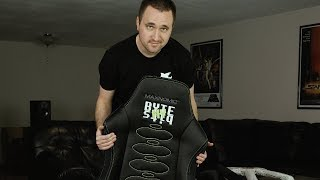 Expensive Elite Status Gaming Chair unboxing!