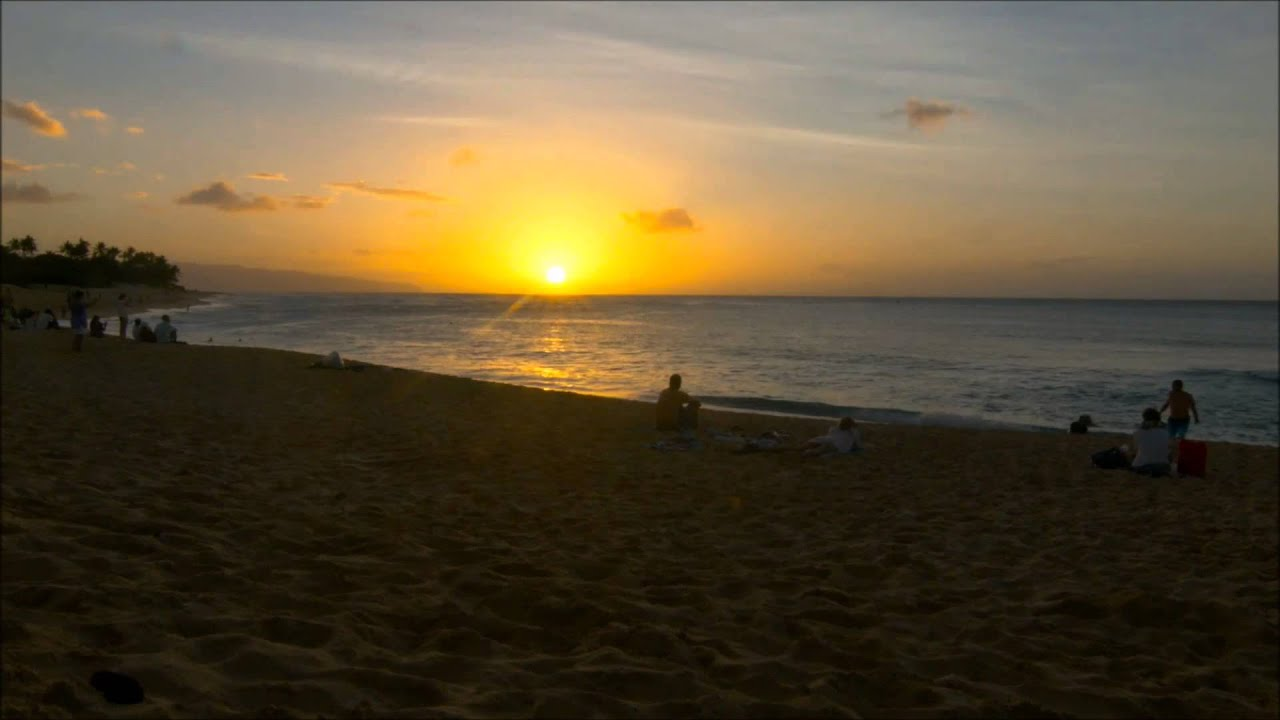 Reiki For Heart Healing Filmed At Sunset Beach Hawaii