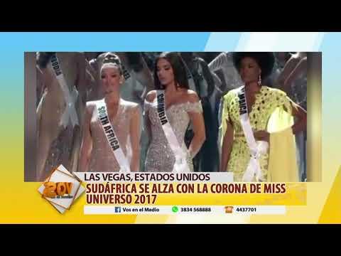 SUDÁFRICA SE ALZA CON LA CORONA DE MISS UNIVERSO 2017 - 27 11 17