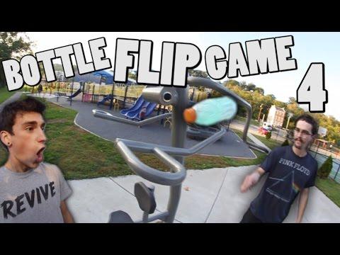 CRAZY Game of BOTTLE FLIP! | Round 4