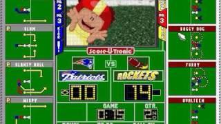 Backyard Football Gameplay