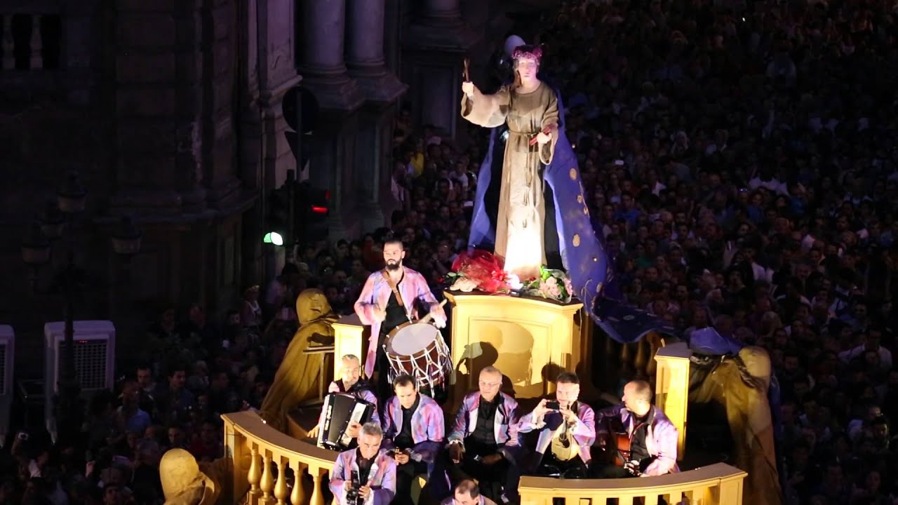 Palermo, Santa Rosalia feast: a film instead of the traditional parade this year because of Covid-19