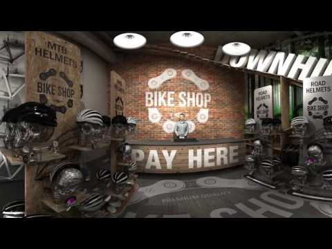VR 360 Interactive Retail Cycle Store
