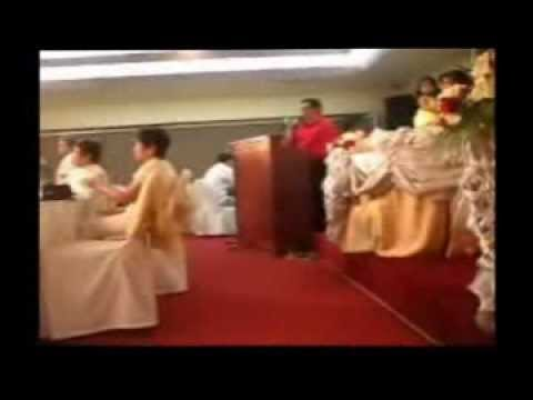 filipino wedding reception program emcee youtube