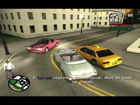 Grand Theft Auto San Andreas Végigjátszás - 38.rész - Én az örömlányok Pimpje! letöltés