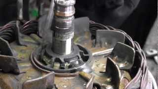 Valeo alternator repair part 2 slipring change.