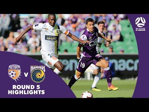 Hyundai A-League 2018/19 Round 5: Perth Glory 3 - 2 Central Coast Mariners Highlights