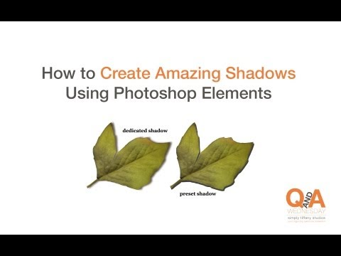 How To Create Amazing Shadows Using Adobe Photoshop Elements