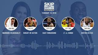 UNDISPUTED Audio Podcast (2.15.18) with Skip Bayless, Shannon Sharpe, Joy Taylor | UNDISPUTED