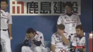 東京ヤクルト 青木サヨナラヒット&ヒーローインタビュー 2009/08/11