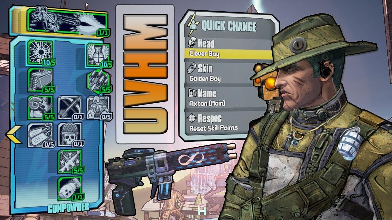 Borderlands  Op Commando Build
