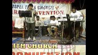 LIVE MUSIC PROGRAMME BY PRAISE MELODIES ADOOR,SINGER :SANTHOSH JOY, KEY:REJI EMMANUEL
