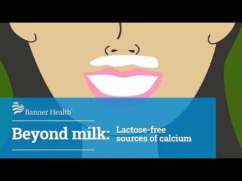 Beyond milk: Lactose-free sources of calcium