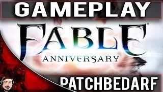 FABLE ANNIVERSARY PC GAMEPLAY [GERMAN] | Sehr Patchbedürftig & Soundaussetzer