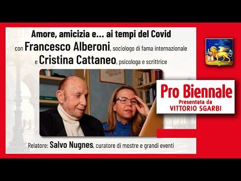 PRO BIENNALE 2020- FRANCESCO ALBERONI Sociologo- CRISTINA CATTANEO Psicologa - SALVO NUGNES Curatore