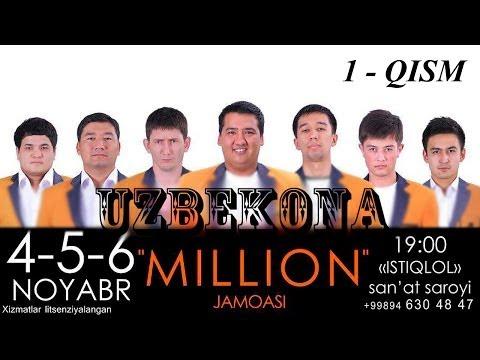 Миллион жамоаси концерт дастури 2013 (1-кисм)