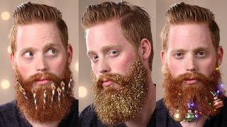 3 Ways to Decorate Your Beard This Holiday Season
